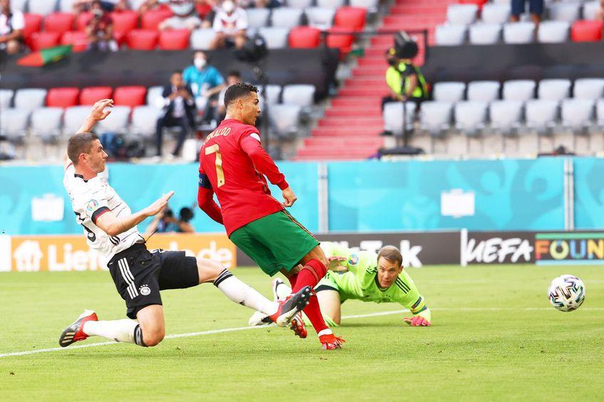 Cristiano Ronaldo a înscris vs. Germania // foto: Guliver/gettyimages