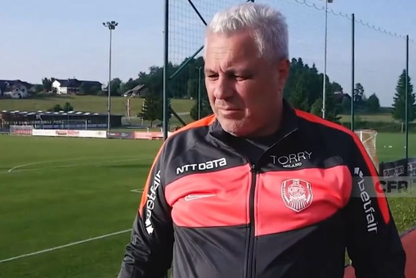Marius Șumudică, antrenor CFR Cluj // foto: captură Facebook