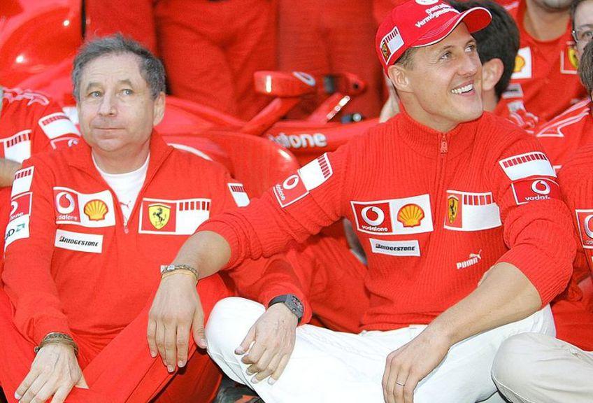 Jean Todt alături de Michael Schumacher // Sursă foto: Getty