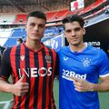 Flavius Daniliuc și Ianis Hagi, titulari în Rangers - Nice
