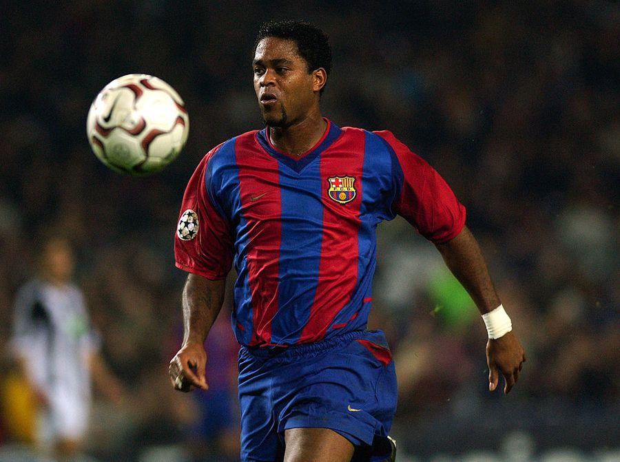 Kluivert, jucător important în istoria Barcelonei