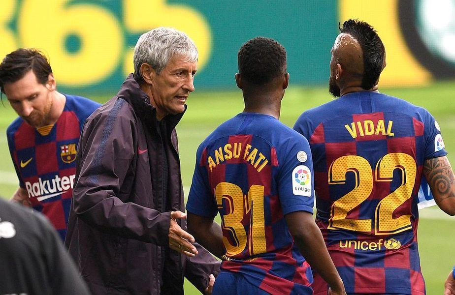Patrick Kluivert ar fi alegerea șefilor Barcelonei pentru postul de antrenor