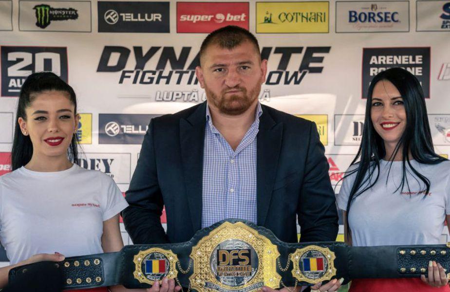 Dynamite Fighting Show va fi primul eveniment ce găzduiește sporturi de contact după încheierea stării de urgență.