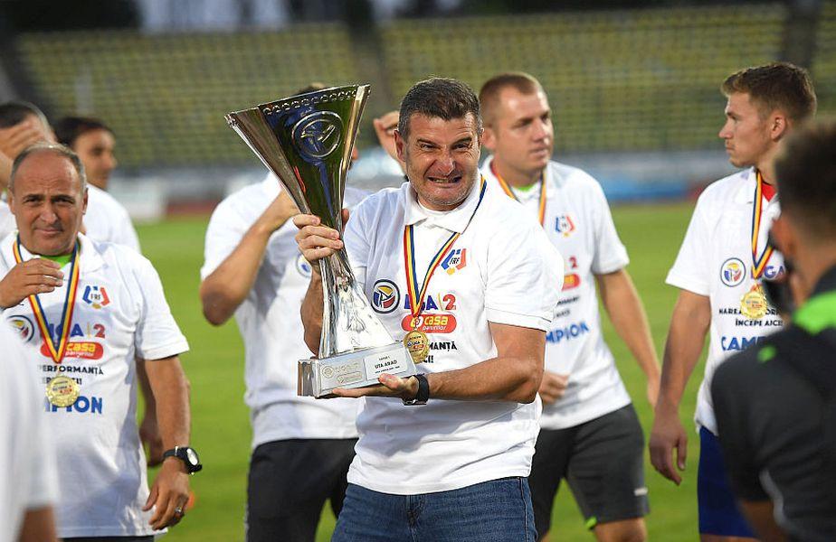 Laszlo Balint a promova-t pe UTA în Liga 1