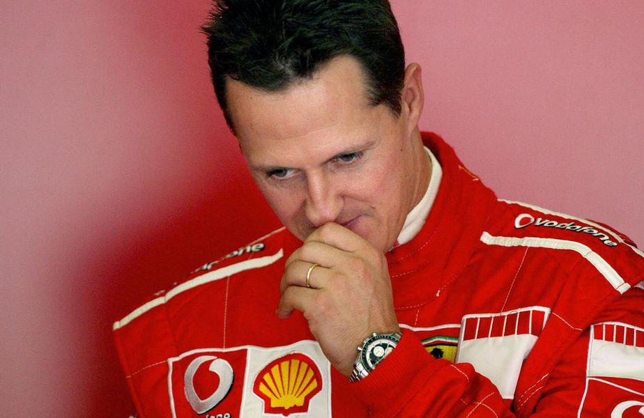 Michael Schumacher, pe vremea când concura pentru Ferrari