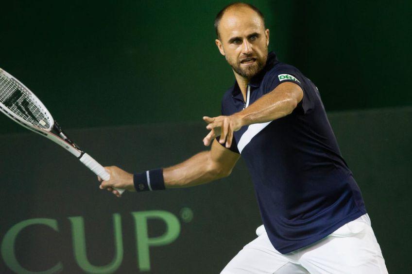 Marius Copil poate aduce punctul decisiv României / Sursă foto: Facebook @Romanian Davis Cup Team
