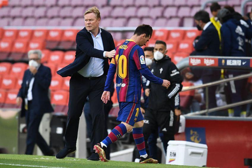 """Koeman s-a apărat de critici folosindu-se de Messi: """"Cu el în teren, am pierdut 2-8 cu Bayern"""""""