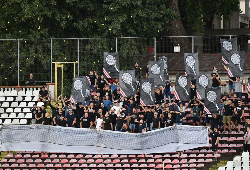 Fanii lui Dinamo nu au depășit umilința din derby-ul cu FCSB, scor 0-6. Au pregătit o scenografie specială la meciul cu FC Botoșani, prin care promit răzbunare.