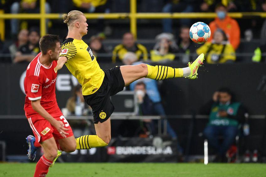 """Borussia Dortmund a câștigat meciul cu Union Berlin, scor 4-2, partidă contând pentru runda #5 din Bundesliga. Vedeta partidei a fost Erling Haaland, care a reușit o """"dublă""""."""