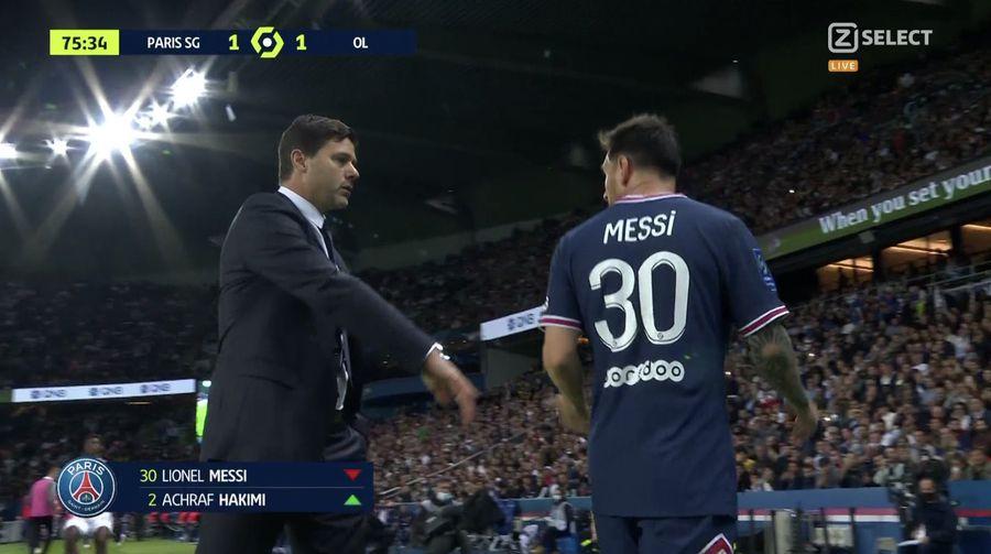 PSG câștigă, dar la Paris nu e liniște! Al 3-lea meci fără gol pentru Messi + primele tensiuni: Leo, schimbat, a refuzat să dea mâna cu Pochettino!