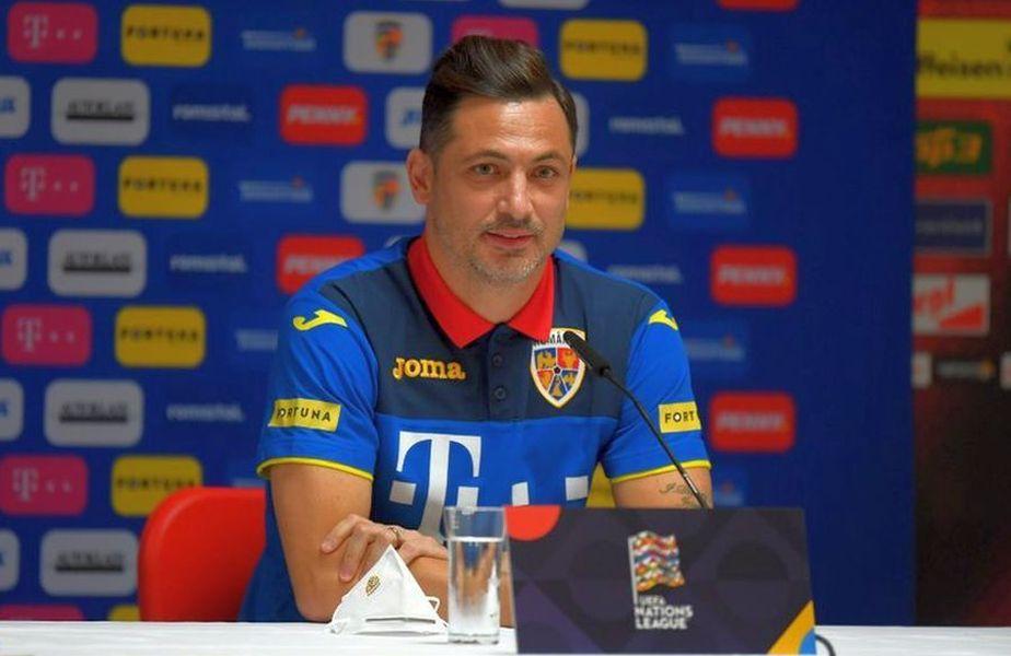 Mirel Rădoi, selecționer România
