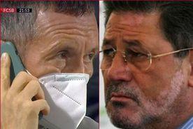 """CLINCENI - FCSB 0-2. Cornel Dinu, derapaj la adresa lui Mihai Stoica: """"E un fel de behăit de oaie. E normal să vorbești cu ciobanul-șef"""""""