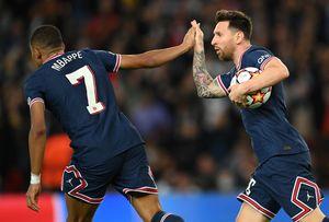 """Liga Campionilor, teritoriul lui Leo Messi! Prima """"dublă"""" în tricoul lui PSG și încă doi pași spre Balonul de Aur"""