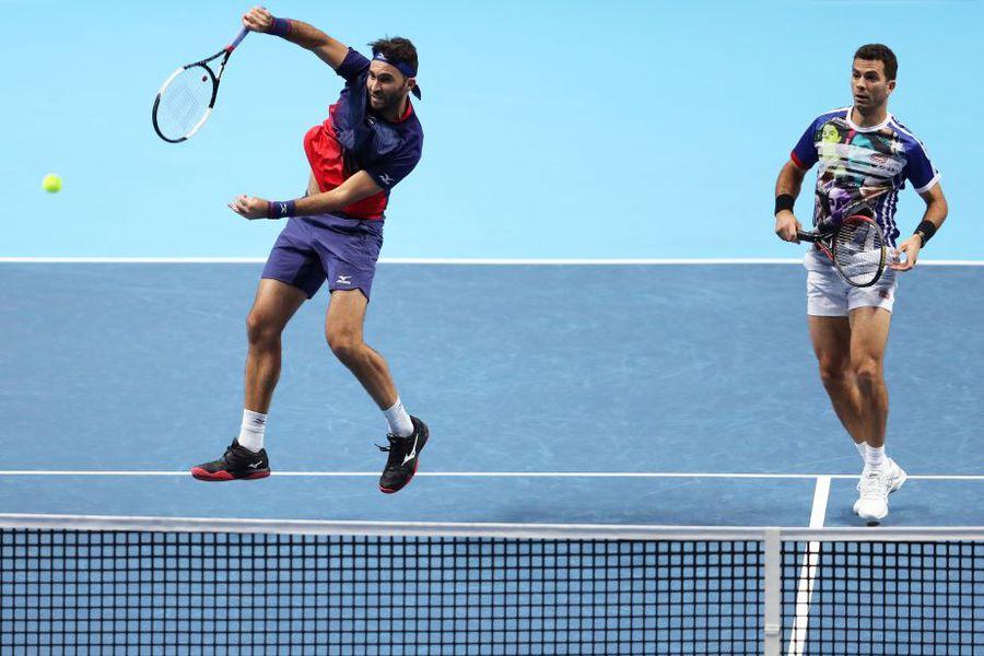 Tecău și Rojer în acțiune Foto Guliver/GettyImages
