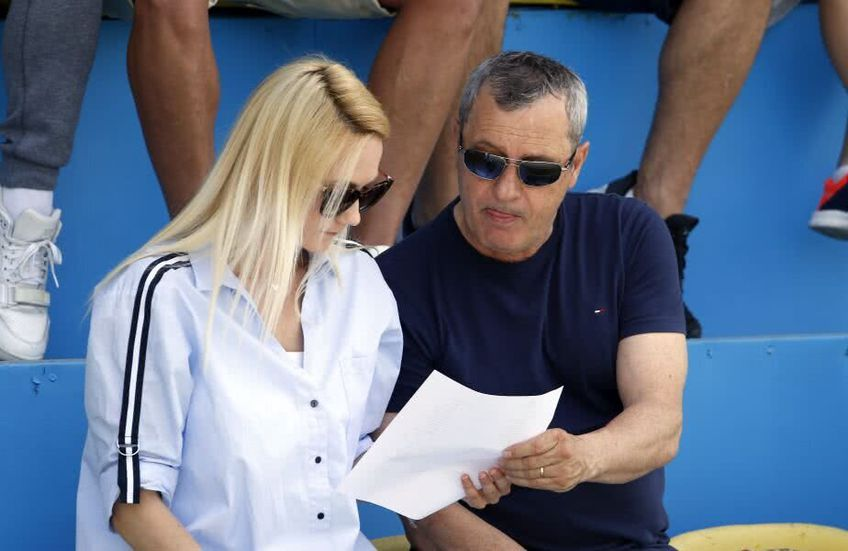 Mircea Rednic și Luana Rednic. foto: GSP