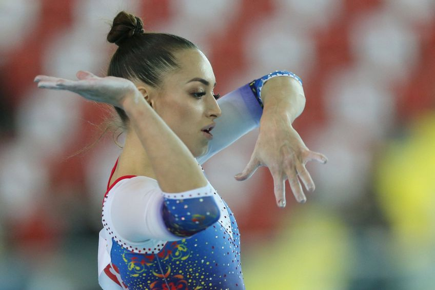 Larisa Iordache în acțiune FOTO Imago-Images