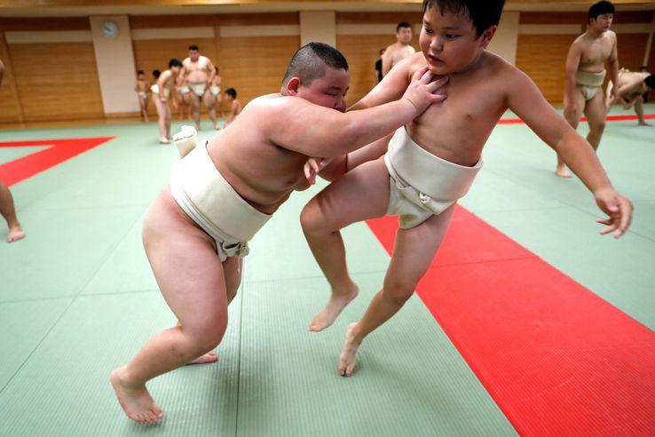 Kyuta se antrenează în șase zile pe săptămână.  // Foto: Reuters