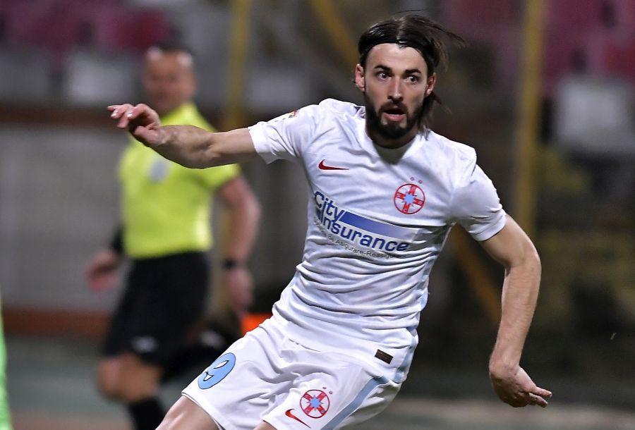 Ante Vukusic a bifat numai 82 de minute în tricoul FCSB până să intre pe lista neagră a lui Gigi Becali