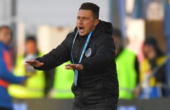 """Ilie Poenaru pune tunurile pe jucători: """"Nu i-am recunoscut! La pauză nu m-au ascultat"""""""