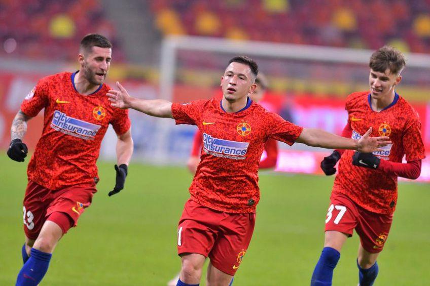 FCSB a învins-o pe Chindia, scor 1-0, în runda cu numărul 24 din Liga 1.