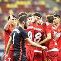 Alexandru Buziuc (26 de ani, atacant), introdus la pauza meciului FCSB - Chindia, scor 1-0, nu a prins finalul jocului de pe Arena Națională.