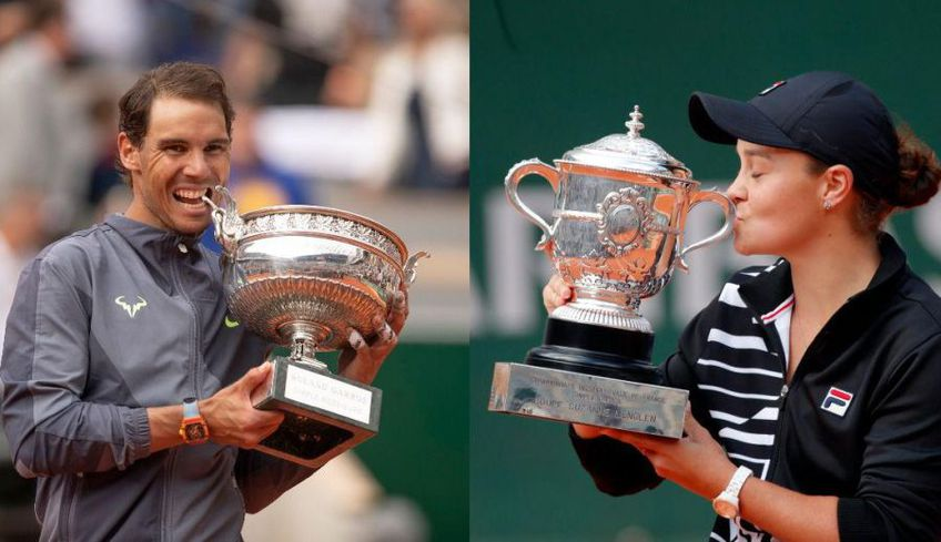 Rafael Nadal a fost consultat despre mutarea turneului de la Roland Garros în luna septembrie, în timp ce Ashleigh Barty nu a primit niciun telefon.