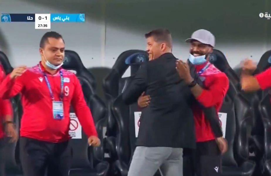 Bani Yas, formația antrenată de Daniel Isăilă (48 de ani), a învins-o pe Hatta, scor 1-0, și a urcat pentru moment pe primul loc în Emiratele Arabe Unite.