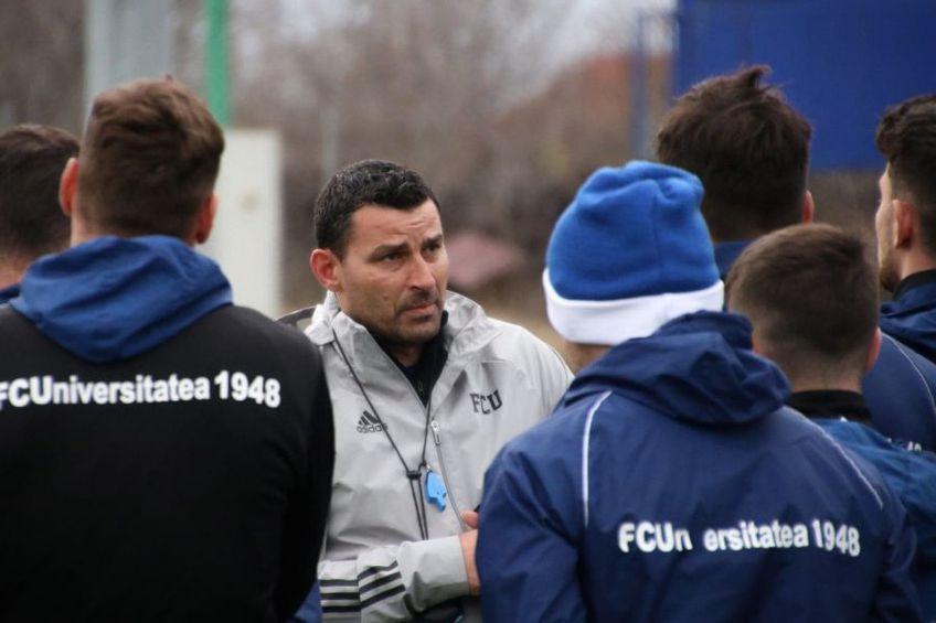 Eugen Trică / Sursă foto: Facebook FC Universitatea Craiova