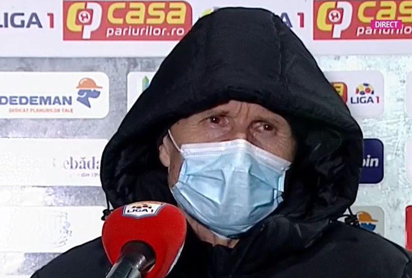 """Poli Iași a învins-o pe Dinamo, scor 1-0. Gigi Mulțescu, aflat la primul meci de la revenire, s-a plâns la final de indisponibilii din efectivul """"câinilor""""."""