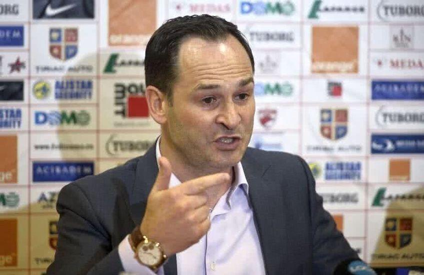 Ionuț Negoiță este din 2013 patronul lui Dinamo