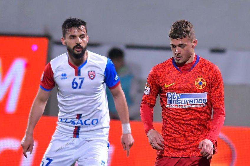 Perianu a strâns doar 5 meciuri ca titular în acest campionat FOTO Facebook FCSB