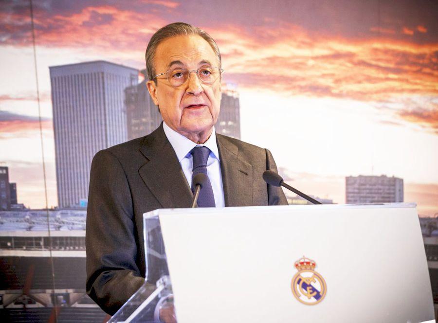 Florentino Perez, unul dintre marii susținători ai proiectului Super Liga Europei