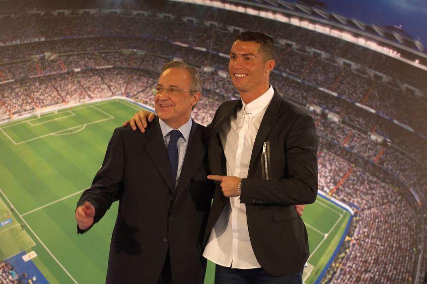 Cristiano Ronaldo și Florentino Perez în 2016 // foto: Guliver/gettyimages