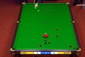 """Scoțianul care-l va înfrunta pe Ronnie O'Sullivan, lovitură genială la CM de snooker: """"Se înșurubează pe masă"""""""