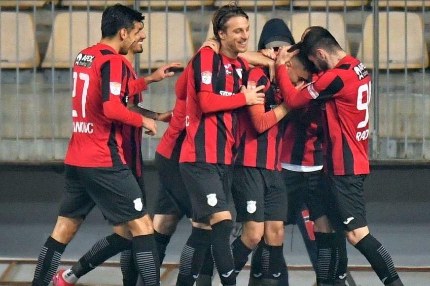 Astra a învins-o pe Hermannstadt în deplasare, 3-1, într-un meci contând pentru runda a doua din play-out.