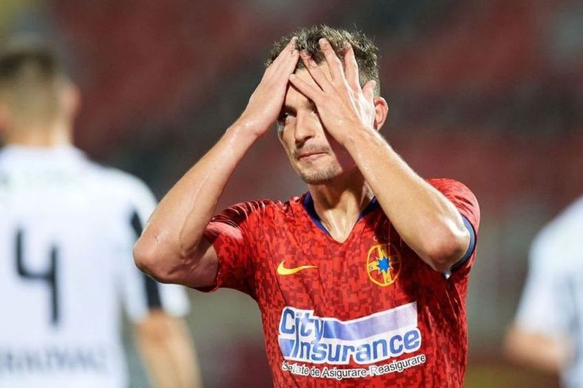 Florin Tănase (26 de ani) ar putea absenta pentru FCSB în jocul cu Academica Clinceni din play-off (joi, ora 20:15, etapa a doua).