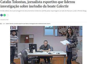 """Folha de S. Paulo, cel mai reputat ziar brazilian, a intervievat jurnaliștii GSP: """"Fiecare investigație mare a început dintr-o știre mică"""""""