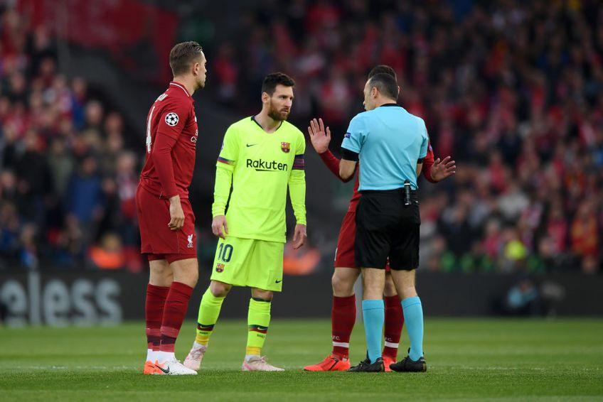 """Jordan Henderson (30 de ani), """"căpitanul"""" lui Liverpool, spune că el și colegii săi se opun Super Ligii Europei."""