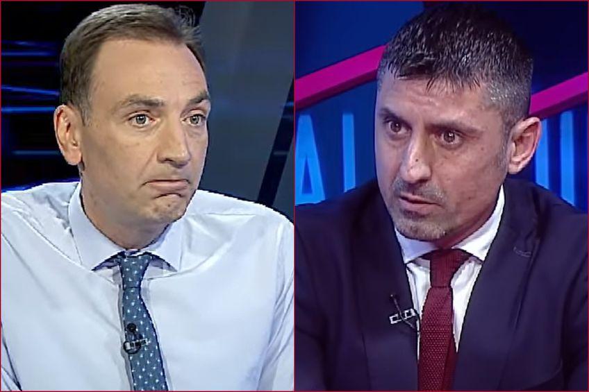 Ionel Dănciulescu și Radu Naum s-au contrat pentru câteva secunde după Dinamo - UTA 0-1.