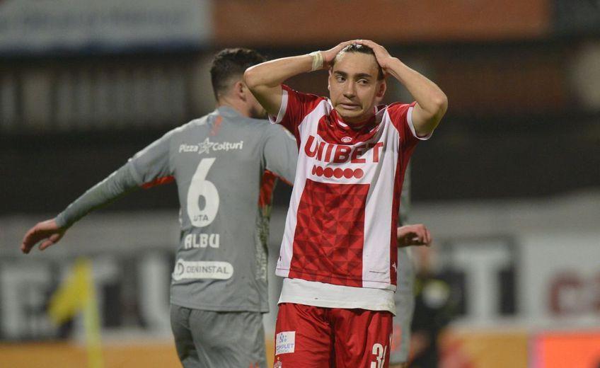"""Dinamo a fost învinsă de UTA, scor 0-1. Florin Prunea, fost președinte și portar al """"câinilor"""", simte lipsa unui conducător în Ștefan cel Mare."""
