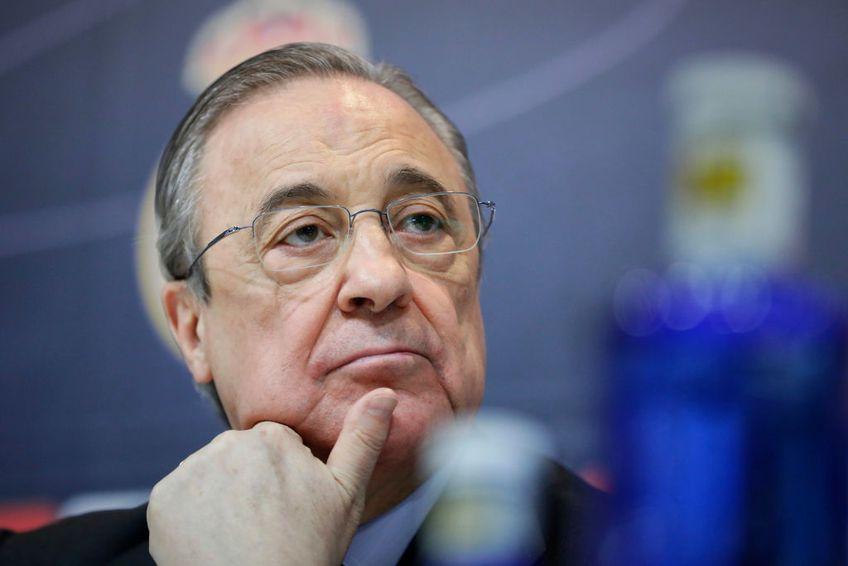 Florentino Perez dă asigurări că proiectul Super Ligii Europei merge mai departe, în ciuda pașilor înapoi făcuți de mai multe echipe.
