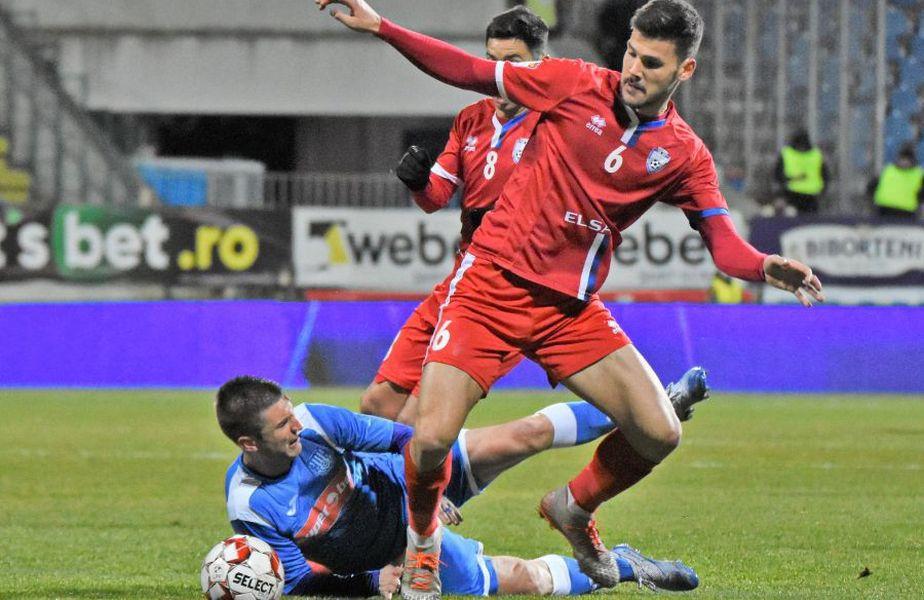 Andrei Chindriș e titular în naționala U21