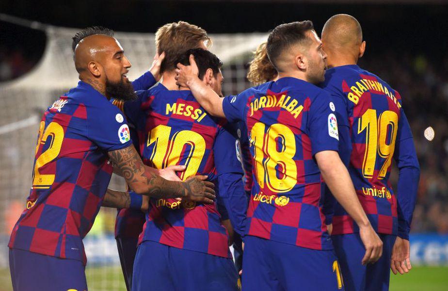 Barcelona ocupă prima poziție în La Liga // sursă foto: Guliver/gettyimages
