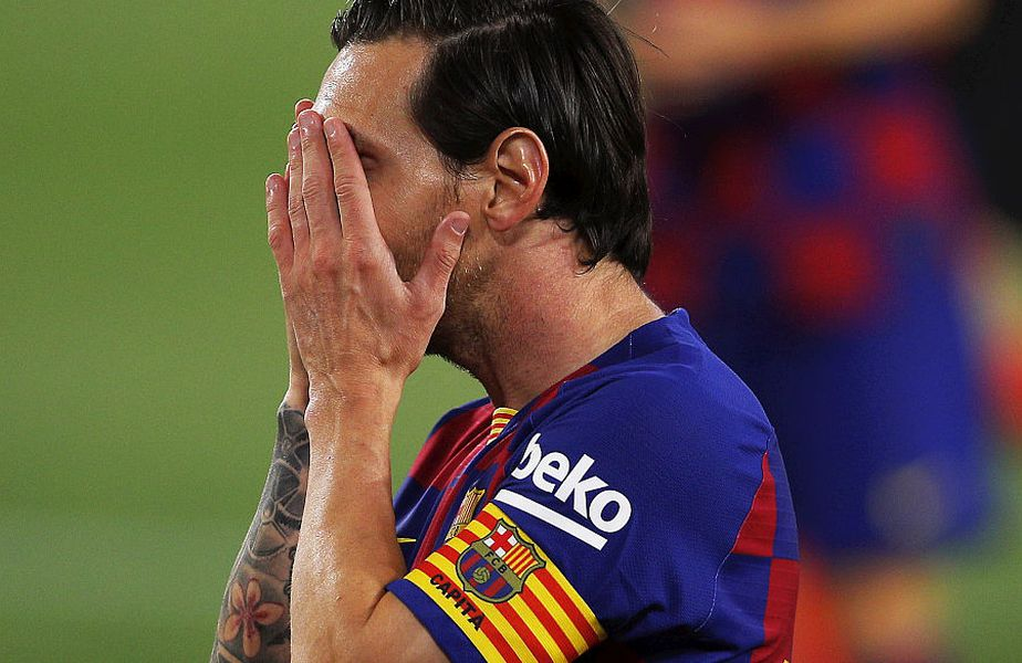 Leo Messi nu a marcat contra Sevillei // FOTO: Guliver/GettyImages