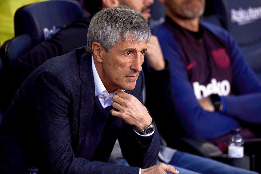 Cu Quique Setién pe bancă, Barcelona are 4 meciuri în deplasare fără gol marcat // FOTO: Guliver/GettyImages