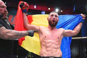 Nicolae Negumereanu, victorie spectaculoasă în UFC! E primul român care obține un asemenea succes