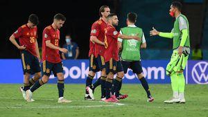 """Elevii lui Luis Enrique, criticați în presă după al doilea egal la Euro 2020: """"Alertă roșie. Cu spatele la zid"""""""