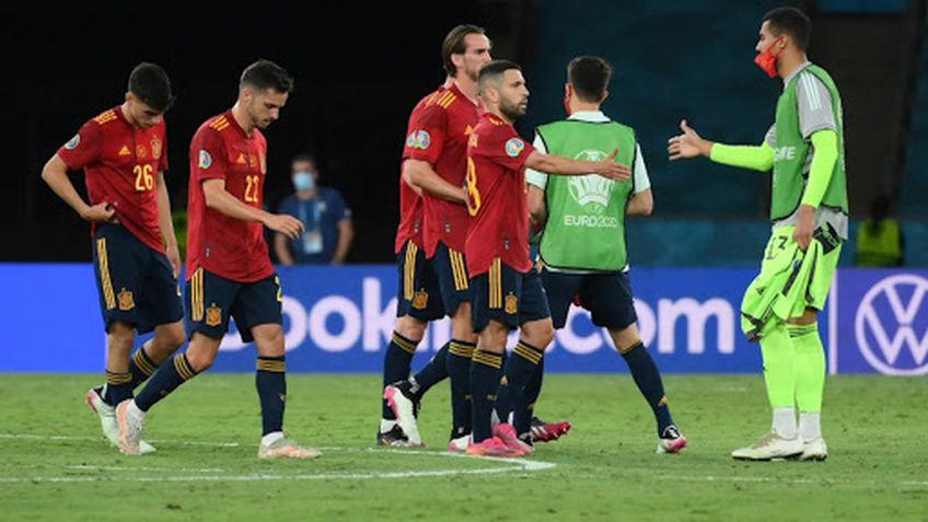 Elevii lui Luis Enrique, criticați în presă după al doilea egal la Euro 2020