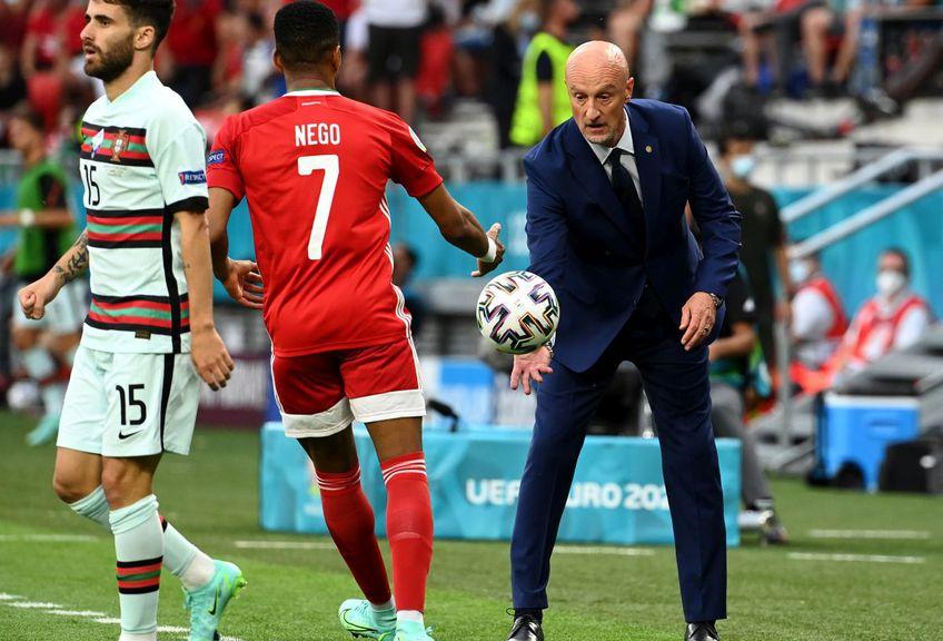 Marco Rossi (dreapta) îi este recunoscător lui Mircea Lucescu (foto: Guliver/Getty Images)