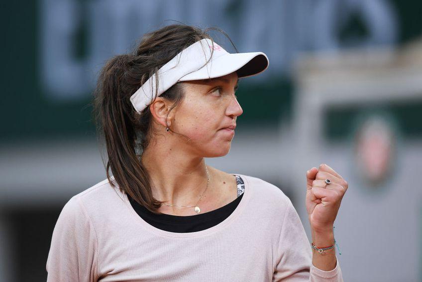 Patricia Țig (26 de ani, 61 WTA) a obținut prima victorie din carieră pe iarbă, în șaisprezecimile de finală de la Bad Homburg. Sportiva din România a învins-o pe Mona Barthel (30 de ani, 187 WTA), scor 7-6(4), 6-3.